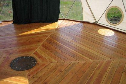 glamping-domes-flooring-wood